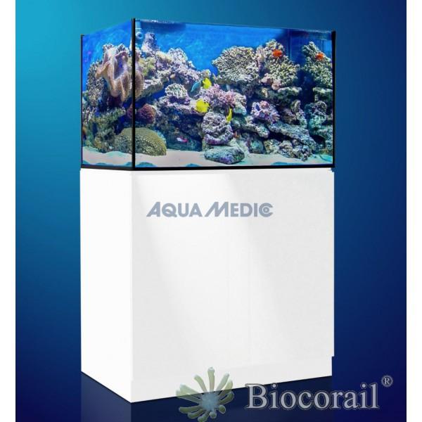 Aquarium aquamedic xenia 100 meuble blanc