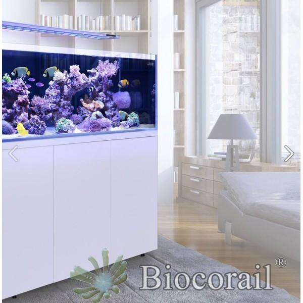 """L'aquarium""570L meuble BLANC de chez Aquarium systems"