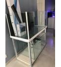 Aquarium 470L JAUBERT 130x60xh60 avec refuge