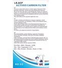 Filtre à charbon actif GLAMORCA MAXSPECT pour Osmose Inverse  RO1