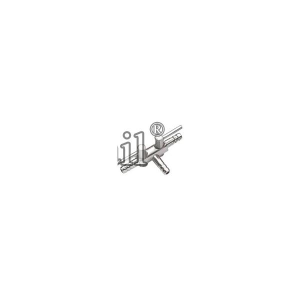 Robinet à air en métal 4/6 - 2 conduits- HOBBY
